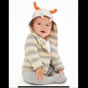 Baby Gap Monster Hoodie Sweater